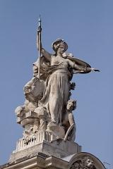 Grand Palais -  Vue de détail du Grand Palais.