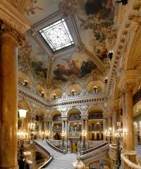 Théâtre national de l'Opéra, dit opéra Garnier - Opéra Garnier, Grand Escalier