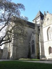 Eglise Saint-Malo - Français:   Transept sud de l\'église Saint-Malo de Dinan (22).