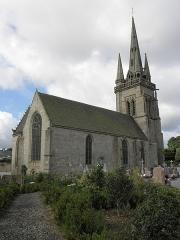 Eglise Notre-Dame - Français:   Église Notre-Dame de Grâces (22). Chevet et flanc nord.