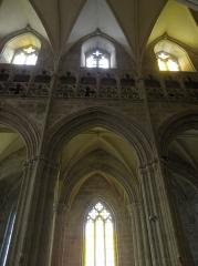 Eglise Notre-Dame - Français:   Élévation sud du chœur de la collégiale Notre-Dame-de-Grande-Puissance de Lamballe (22).