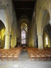 Eglise Notre-Dame - Français:   Intérieur de la collégiale Notre-Dame-de-Grande-Puissance de Lamballe (22).