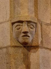 Chapelle de Perguet - Français:   Chapelle Sainte-Brigitte de Perguet en Bénodet (29). Culot sculpté.