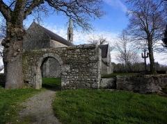 Chapelle de Perguet - Français:   Chapelle Sainte-Brigitte de Perguet en Bénodet (29). Porte triomphale.