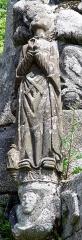 Chapelle Saint-Vennec - Deutsch:   Briec (Bretagne, Finistère) Kapelle Saint-Vennec, Calvaire (datiert auf 1556). Maria Magdalena