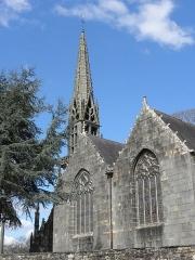 Eglise Notre-Dame de Rumengol - Français:   Façade méridionale de l\'église Notre-Dame-de-Rumengol au Faou (29).