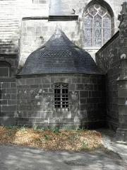 Eglise Notre-Dame de Rumengol - Français:   Chapelle des Fonds de la façade méridionale de l\'église Notre-Dame-de-Rumengol au Faou (29).