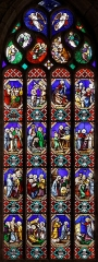 Eglise Saint-Thivisiau -  Les vitraux de l\'église Saint-Thuriau à Landivisiau dans le Finistère.