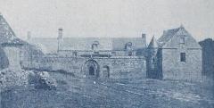 Manoir de Lézurec - Français:   Le château de Lesurec en 1900 (\