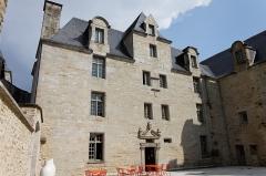 Ancien prieuré de Locmaria, ancienne caserne Emeriau - Français:   L\'église de Locmaria à Quimper, le prieuré