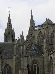 Ancienne cathédrale Saint-Paul-Aurélien - Français:   Chevet de la cathédrale Saint-Paul-Aurélien de Saint-Paul de Léon (29).