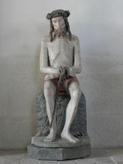 Château de Kerjean, actuellement Musée breton - Statue de l'Ecce Homo en la chapelle du château de Kerjean en Saint-Vougay (29).