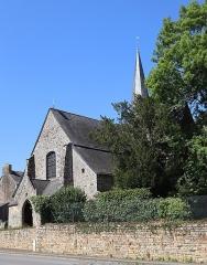 Eglise Saint-Exupère - Église Saint-Exupère de Gahard (35). Extérieur.