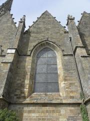Eglise Notre-Dame - Collatéral sud de la basilique Notre-Dame-de-l'Assomption de La Guerche-de-Bretagne (35). 4ème chapelle.