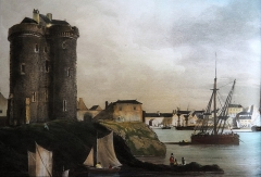 Tour Solidor et ouvrages avancés - French marine painter, drawer, engraver and writer