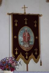 Chapelle Saint-Cado - Bannière Saint-Cado, chapelle Saint-Cado, Fr-56-Belz.