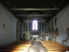 Chapelle Sainte-Anne - Français:   Chapelle Sainte-Anne de Buléon (Morbihan, France): nef