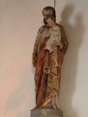Chapelle Saint-Mélèc de Tréganteur - Chapelle de Trégranteur: statut Saint-Joseph et Christ enfant