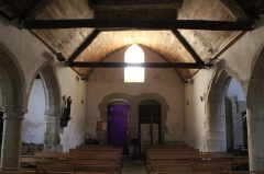 Chapelle Saint-Mélèc de Tréganteur - Chapelle de Trégranteur: nef vue depuis le chœur
