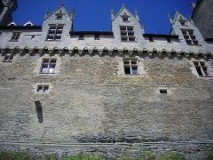 Château - Français:   Château de Josselin (Morbihan, France)
