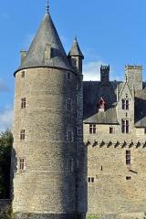 Château - Français:   Château de Josselin, Morbihan, France