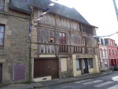 Maison datée de 1602 - Français:   Maison, 3 rue Glatinier à Josselin