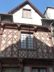 Maison datée de 1538 - Français:   Maison, 3 rue Georges Le Berd à Josselin