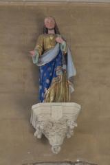Eglise Saint-Théleau - Église Saint-Théleau (Landaul): statue de Jésus