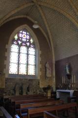 Eglise Saint-Théleau - Église Saint-Théleau (Landaul): transept nord