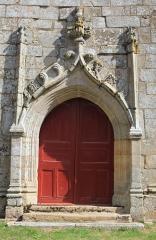 Chapelle Notre-Dame-de-Légevin - Chapelle Notre-Dame-de-Légevin, porte est