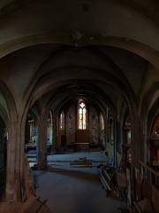 Eglise Saint-Genès - English:   Interior of Saint-Jean church
