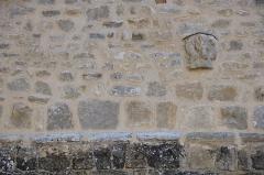 Eglise Saint-Maurice - Français:   Vicq - Eglise Saint-Maurice, chapiteau roman placé en réemploi