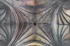 Abbatiale Saint-Géraud - English: Vaulting in the Saint Gerald abbey church of Aurillac, Cantal, France