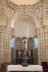 Eglise Saint-Jacques-le-Majeur - Français:   Église Saint-Jacques-le-Majeur de Lanobre: le chœur.