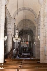 Eglise Saint-Jacques-le-Majeur - Français:   Église Saint-Jacques-le-Majeur de Lanobre: la nef.
