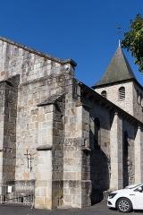 Eglise Saint-Jacques-le-Majeur - Français:   Église Saint-Jacques-le-Majeur de Lanobre.