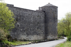 Anciens remparts -  Tower Valette and north-west curtain wall.