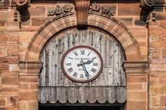 Eglise Saint-Amans - English: Clock of the Saint Amans Church in Rodez, Aveyron, France