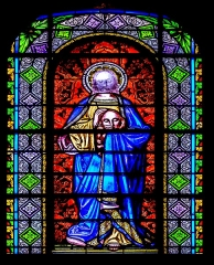 Eglise Saint-Amans - English: Stained-glass window of the Saint Amans Church in Rodez, Aveyron, France