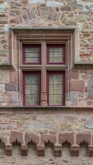 Maison de Benoit - English: Window of Maison de Benoît in Rodez, Aveyron, France