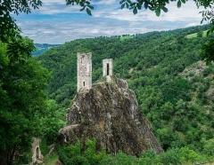 Château Inférieur - Château de Peyrusse-le-Roc, Aveyron, France