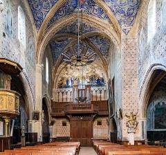 Eglise - English:  Buzet-sur-Tarn - Saint-Martin church - Counter-facade