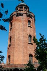 Château d'eau et station de pompage - Français:   Toulouse Château Laganne