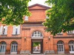 Hospice de la Grave - Français:   L\'Hospice de la Grave à l\'origine est un hôpital pour les pestiférés avant de devenir une maternité durant le 20ème siècle.
