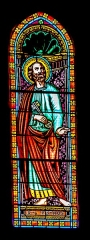 Eglise Notre-Dame-du-Puy - English:   Stained-glass window of the Notre-Dame-du-Puy church of Figeac, Lot, France