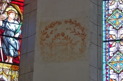 Eglise -  Eglise de Saint-Cirq-Lapopie - 20140925 - Fresque