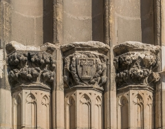 Cathédrale Sainte-Cécile - English: Detail of the portail of the Saint Cecilia Cathedral of Albi, Tarn, France        This place is a UNESCO World Heritage Site, listed as Cité épiscopale d'Albi.  العربية | asturianu | беларуская | беларуская (тарашкевіца)‎ | বাংলা | català | čeština | dansk | Deutsch | English | español | euskara | فارسی | français | עברית | hrvatski | magyar | bahasa Indonesia | italiano | 日本語 | 한국어 | latviešu | македонски | മലയാളം | مازِرونی | Nederlands | polski | português | português do Brasil | română | русский | sicilianu | slovenčina | slovenščina | Türkçe | українська | Tiếng Việt | 中文 | 中文(中国大陆)‎ | 中文(简体)‎ | 中文(繁體)‎ | 中文(台灣)‎ | +/−