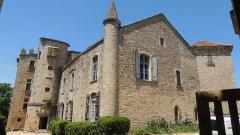 Ruines du château - Français:   Château \