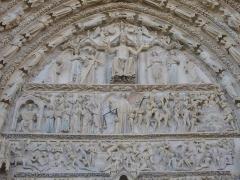 Cathédrale Saint-Etienne - Français:   Façade occidentale de la cathédrale Saint-Étienne de Bourges (Cher, France)