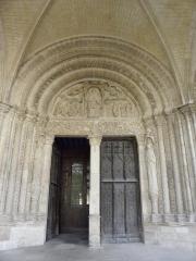 Cathédrale Saint-Etienne - Portail Nord de la cathédrale Saint-Étienne de Bourges (18).
